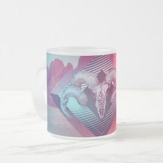 Sureal Frosted Glass Coffee Mug