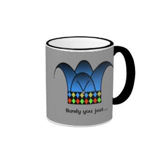 Surely you jest... ringer mug