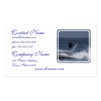 Surf Action Pack Of Standard Business Cards