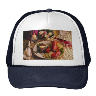 Surf and turf mesh hat