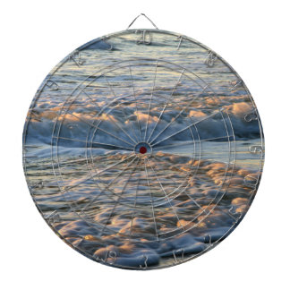Surf at Sunset Dartboard With Darts
