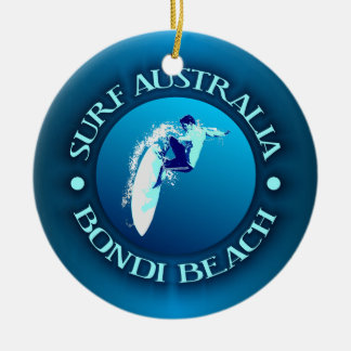 Surf Australia (Bondi) Christmas Ornament