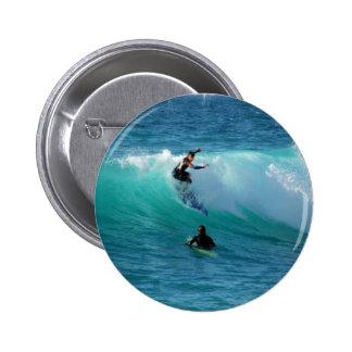 Surf Background  Round Button