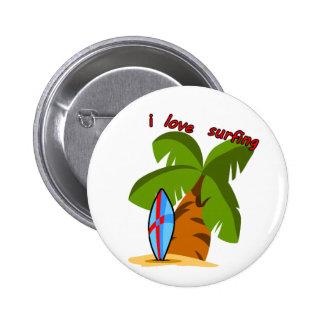 Surf Board Button