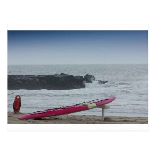 Surf Board Ocean Sea Beach HDR Pictures Photos New Post Card