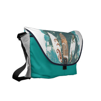 surf boards rickshaw bag_aqua blue messenger bags