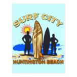 SURF CITY HUNTINGTON BEACH POST CARDS