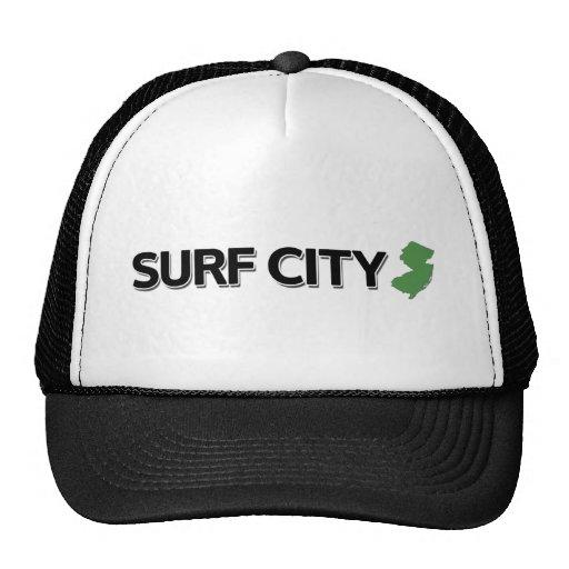 Surf City, New Jersey Trucker Hats