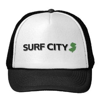 Surf City New Jersey Trucker Hats
