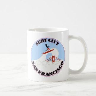 Surf City San Francisco Basic White Mug
