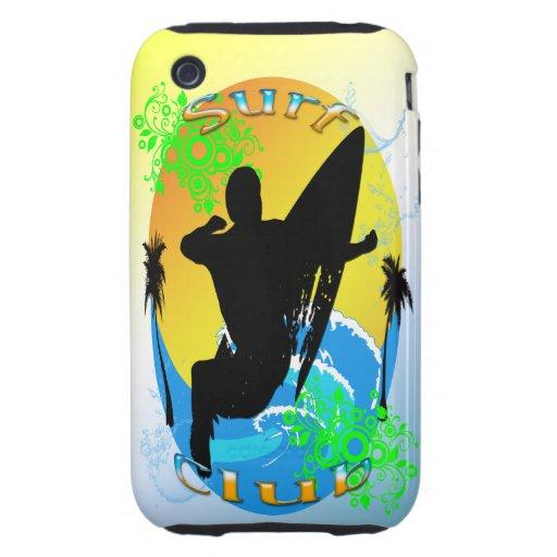 Surf Club - Surfer 3g Case-Mate Tough Case iPhone 3 Tough Covers