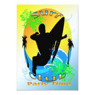 Surf Club - Surfer Invitation
