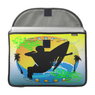 Surf Club - Surfer Macbook Pro Rickshaw Flap Sleev Sleeves For MacBooks