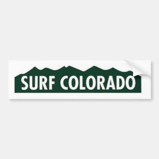 'surf colorado' SURF COLORADO FUNNY COLORADO Bumper Sticker