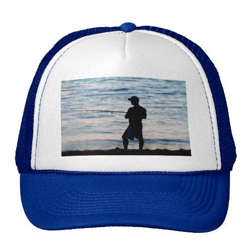 Surf Fishing At Dusk 6 Hat