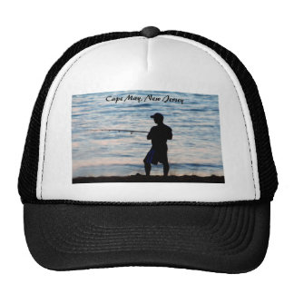 Surf Fishing In Cape May At Dusk 6 Hat