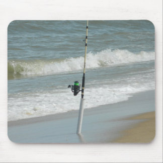 Surf Fishing Mouse Pad