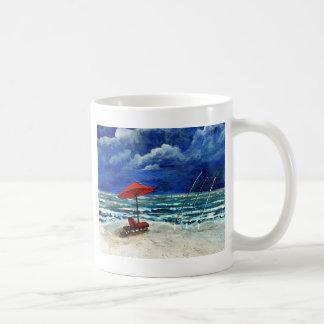 surf fishing saltwater fish acrylic painting mugs