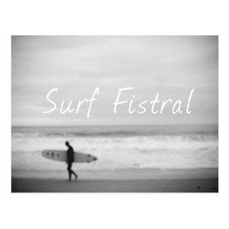 Surf Fistral Postcard