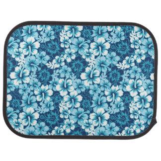 Surf Floral Hibiscus Pattern Car Mat