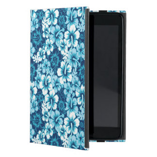 Surf Floral Hibiscus Pattern Cover For iPad Mini