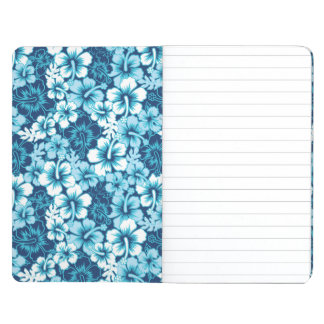 Surf Floral Hibiscus Pattern Journal