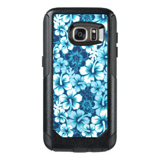 Surf Floral Hibiscus Pattern OtterBox Samsung Galaxy S7 Case