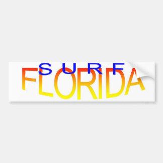 Surf Florida Bumper Sticker