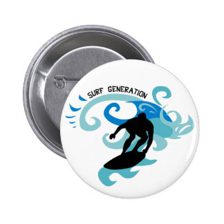 Surf Generation 6 Cm Round Badge