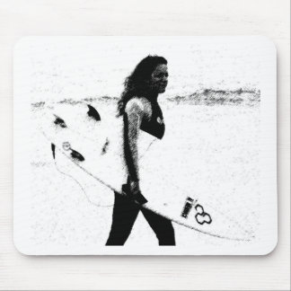 Surf Girl Mouse Mat