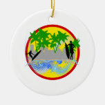 Surf in the City.png Christmas Ornaments