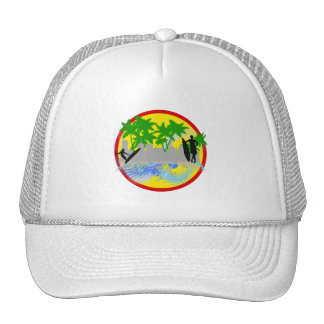 Surf in the City.png Trucker Hats