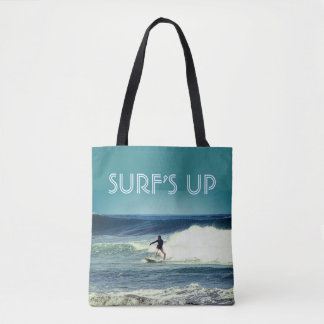 Surf is Up Tote Bag