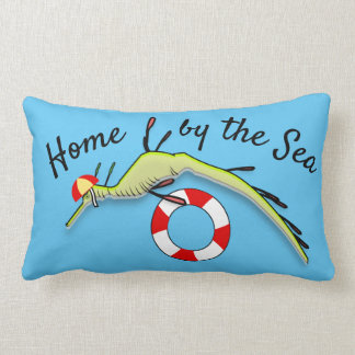 Surf Lifeguard Sea Dragon Lumbar Cushion
