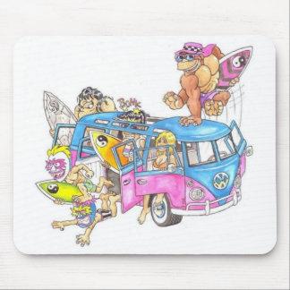 surf minibus mouse pad