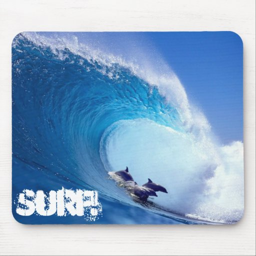 Surf! Mouse Pad