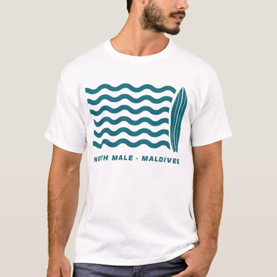 Surf North Male Maldives T-Shirt