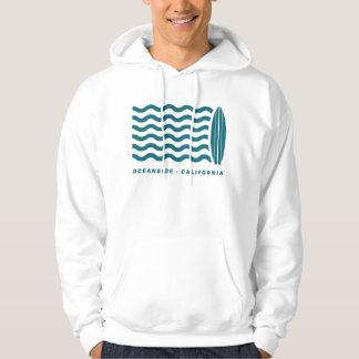 Surf Oceanside California Hoodie