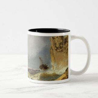 Surf on a Rocky Coast, 1835 Coffee Mugs