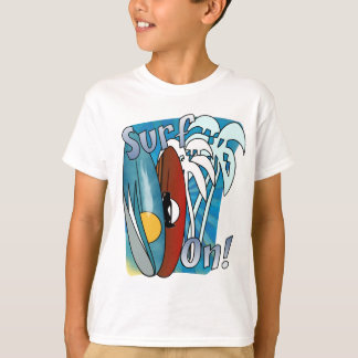 Surf On Kids T Shirt