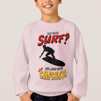 Surf or Chicken? 1 (blk) Sweatshirt