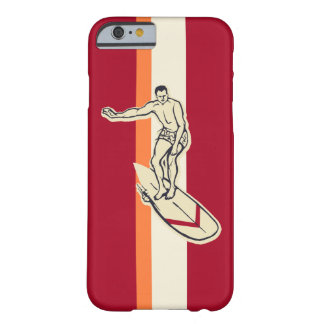 Surf Pareau Stripe Hawaiian Surfer Barely There iPhone 6 Case