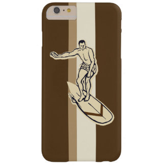 Surf Pareau Stripe Hawaiian Surfer Barely There iPhone 6 Plus Case