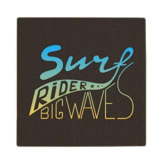 Surf Rider Big Waves Wood Coaster