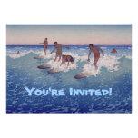 'Surf-Riders, Honolulu' - Birthday Invitation