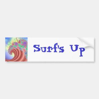surf s Up Bumper Sticker