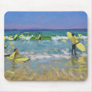 Surf School at St. Ives Mouse Pad