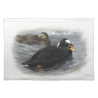 Surf Scoter Duck Birds Ocean Sea Placemat