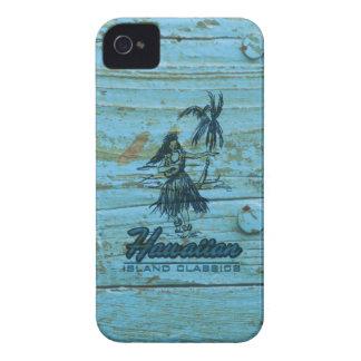 Surf Shack Hawaiian Faux Wood Case-Mate iPhone 4 Case