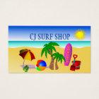 Surf Shop Business Card